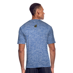 Stallion Clothing Men's Moisture Wicking Performance T-Shirt - Tie-Fly