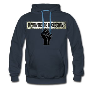 B.A.M.N (By Any Means Necessary) Clothing Men's Premium Hoodie - Tie-Fly