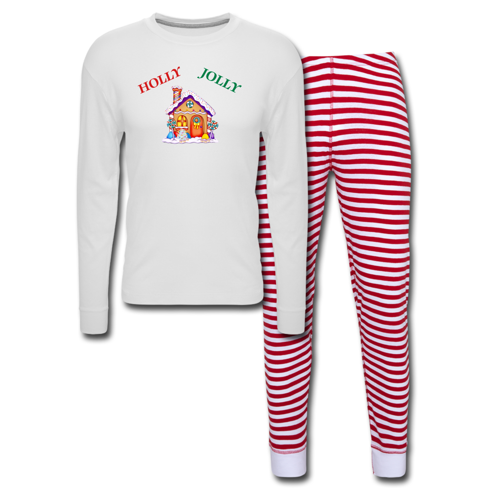 Holly Jolly 2 Unisex Pajama Set - Tie-Fly