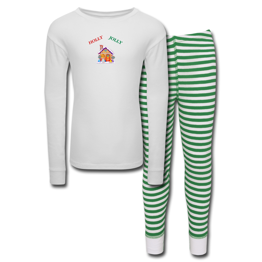 Holly Jolly 2 Kids' Pajama Set - Tie-Fly