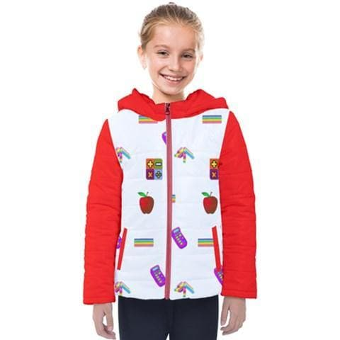 Teacher's Pet Hooded Puffer Jacket - Tie-Fly