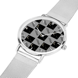 Star Moon Quartz Or LED Wristwatches - Tie-Fly