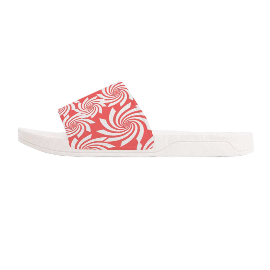 Pastel Candy Slide Sandals - White - Tie-Fly