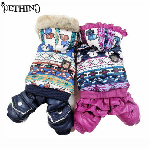 Winter Hooded Snow Suit XS-XL