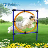 Outdoors Pet Dogs Games Exercise Training Equipment Barrier Two Kinds Pet Training Toys Dogs Jump High Toys Pet Toy Sports 2017