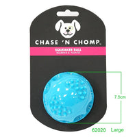 Durable Float-able Bite Resistant Squeaking Ball