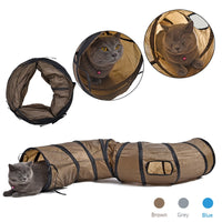 "Foldable Cat Play 1 Hole ""S"" Tunnel"