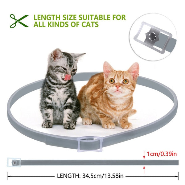 Cat Tick/Flea/Mosquito Collar 8 month protection