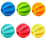 Rubber Teeth Cleaning Chew Balls