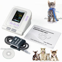 Digital Veterinary Blood Pressure Monitor & Cuff with Software