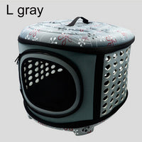 Foldable Pet Carrier/Cage/Crate