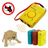 Rechargeable Ultrasonic Anti Bark Device with Repeller Protection Alarm