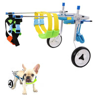Small Wheelchair/Walker Fit For 3-15kg Pet