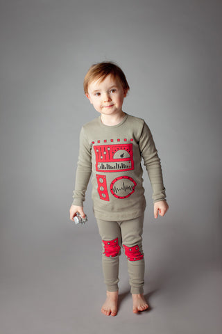 buy robot pajamas, robot pyjamas, organic cotton children's pajamas, fun kids pajamas, kids dress up pajamas