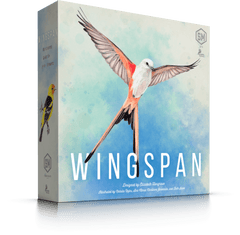 A front box image of the board game Wingspan.