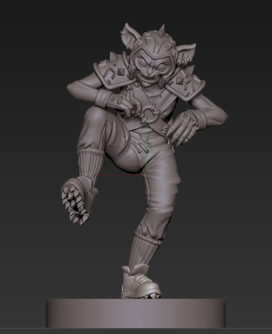 Sculpt of Hobgoblin 1 after comments