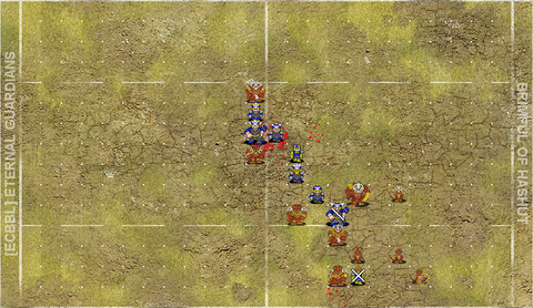 Lizardmen switch from a loose cage to a screen