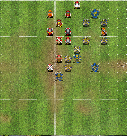 Chaos limit the damage and pressure from dwarves