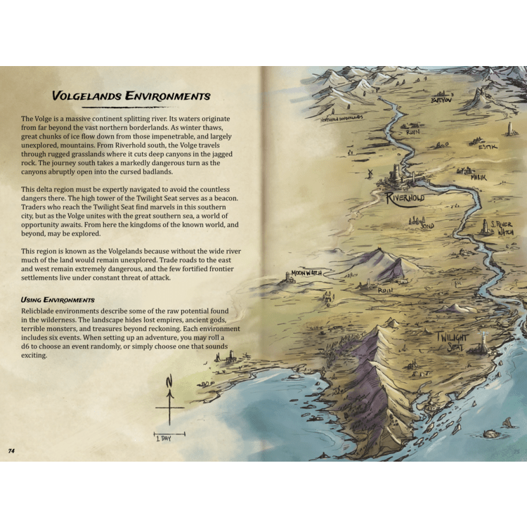The Volgelands Campaign Book