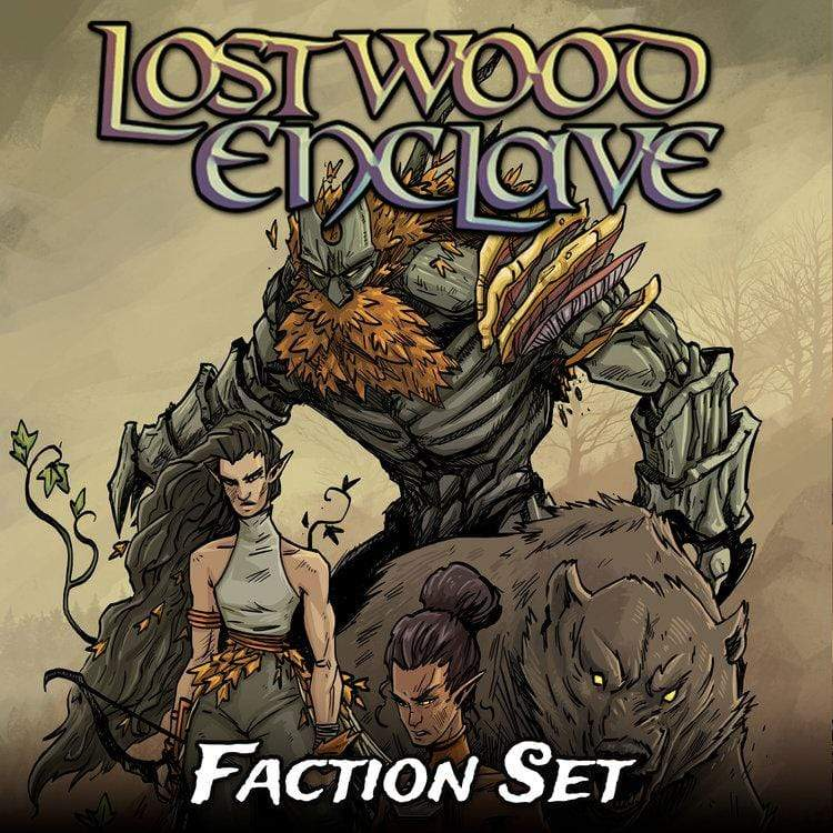 Metal King Studio Miniature Lostwood Enclave Faction Set
