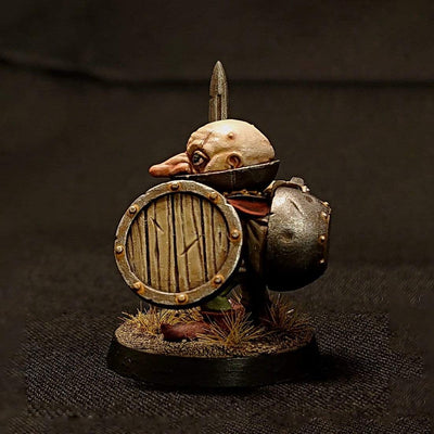 Monkstone Miniatures Miniature Rollo the Masterful - Spriggan Adventurer