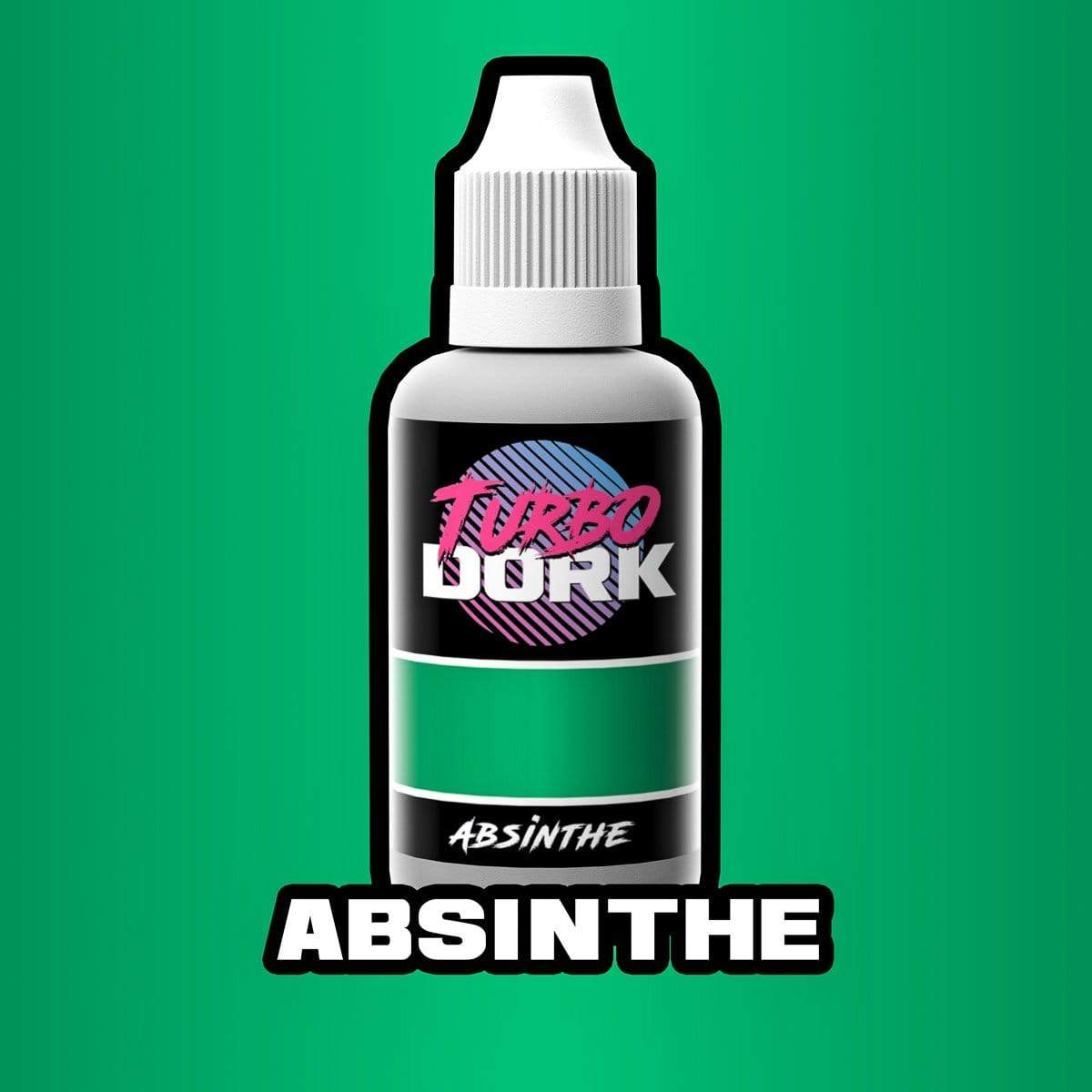 Turbo Dork 20ml Bottle Absinthe Metallic Acrylic Paint