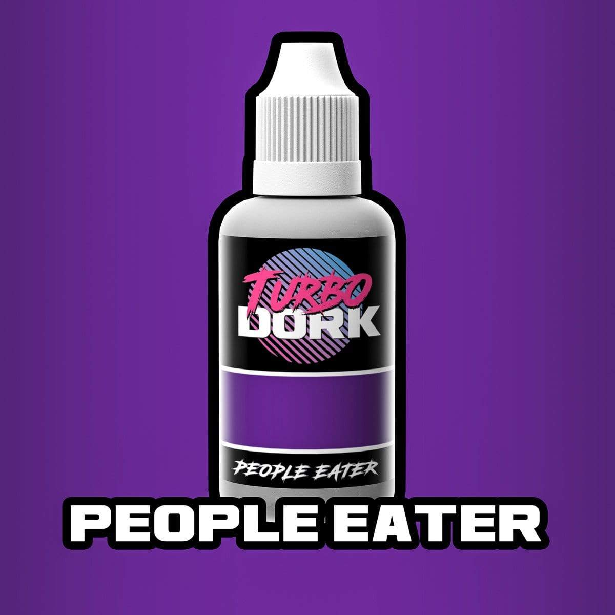 Turbo Dork 20ml Bottle People Eater Metallic Acrylic Paint