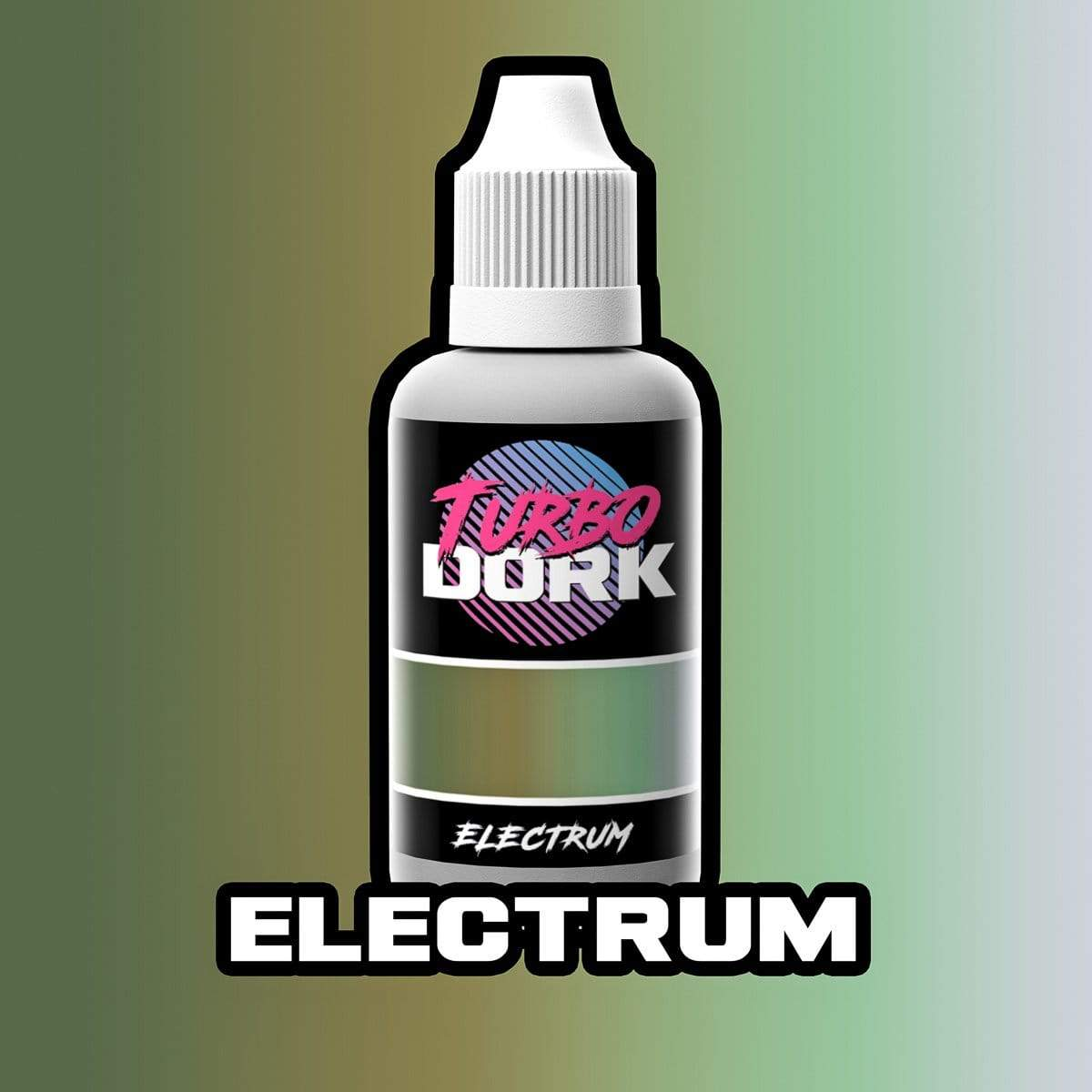 Turbo Dork Colorshift 20ml Bottle Electrum Colorshift Acrylic Paint
