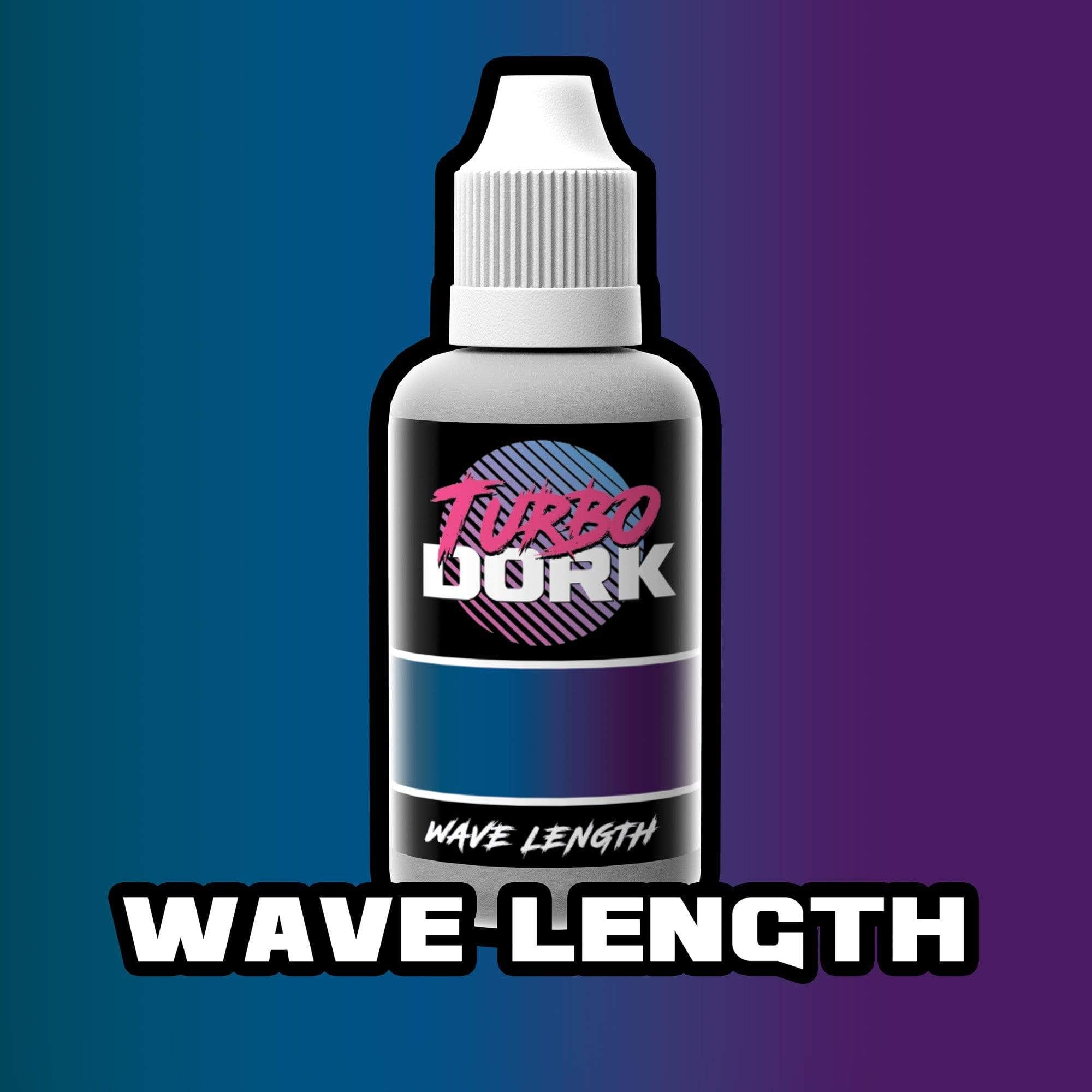 Turbo Dork Colorshift 20ml Bottle Wavelength Colorshift Acrylic Paint
