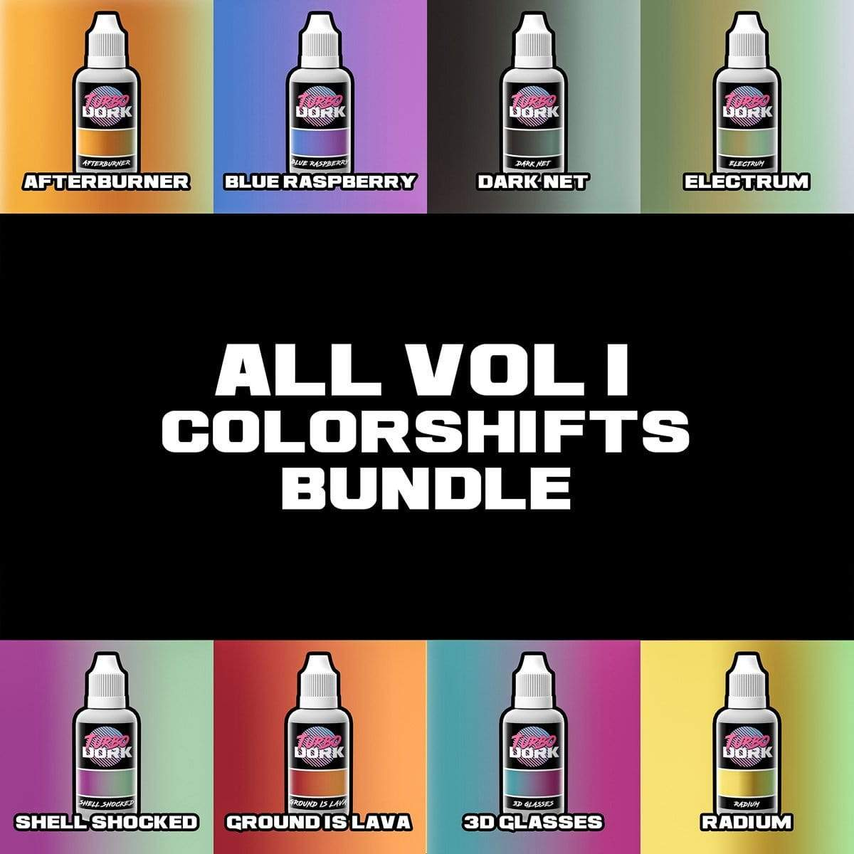 Turbo Dork Colorshift Volume 1 Colorshift Acrylic Paints Bundle