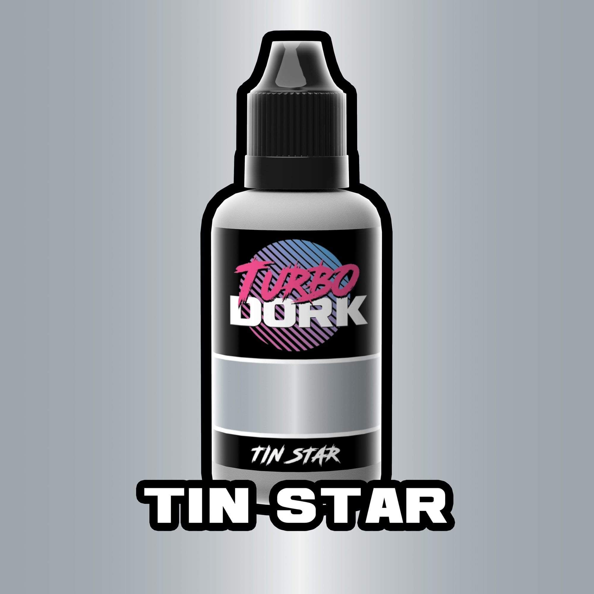 Turbo Dork Metallic 20ml Bottle Tin Star Metallic Acrylic Paint