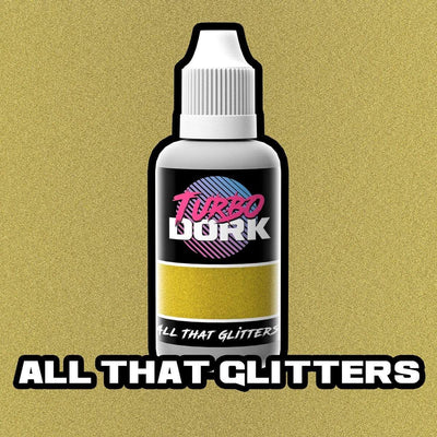 Turbo Dork Paint 20ml Bottle All That Glitters Flourish Acrylic Paint