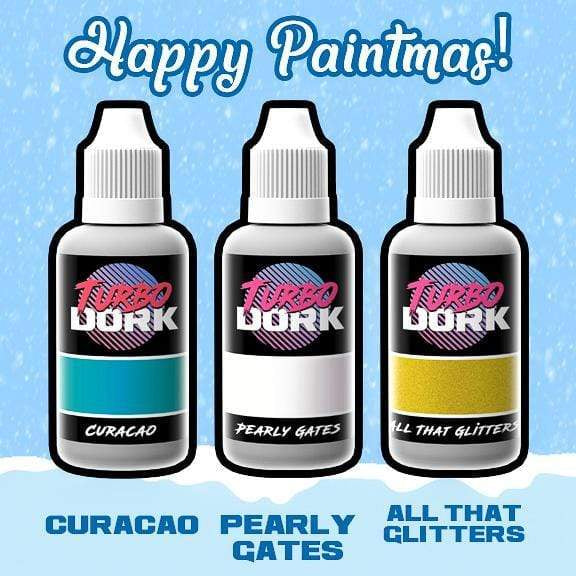 Turbo Dork Paint Set Paintmas Light Metallic Acrylic Paints Bundle