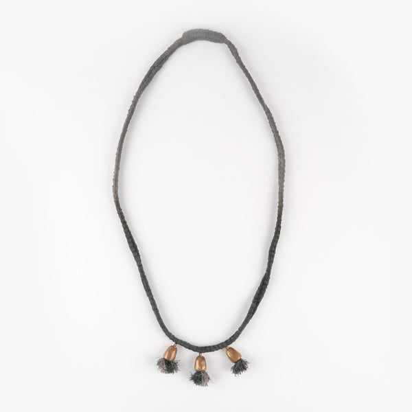 Bell Necklace, Grey