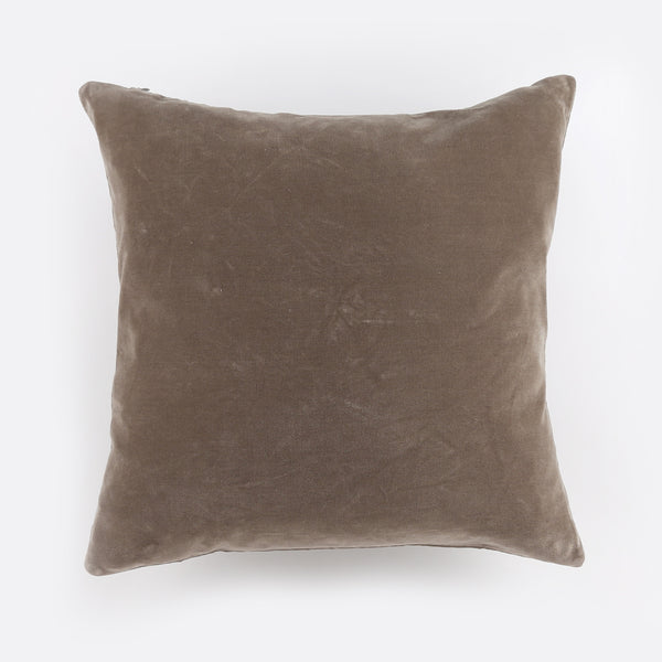 Velvet Pillow - Grey