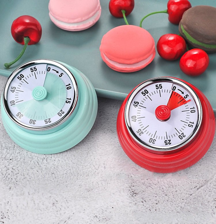 60 Minutes Mechanical Timer-  for Kitchen Cooking Baking Sports
