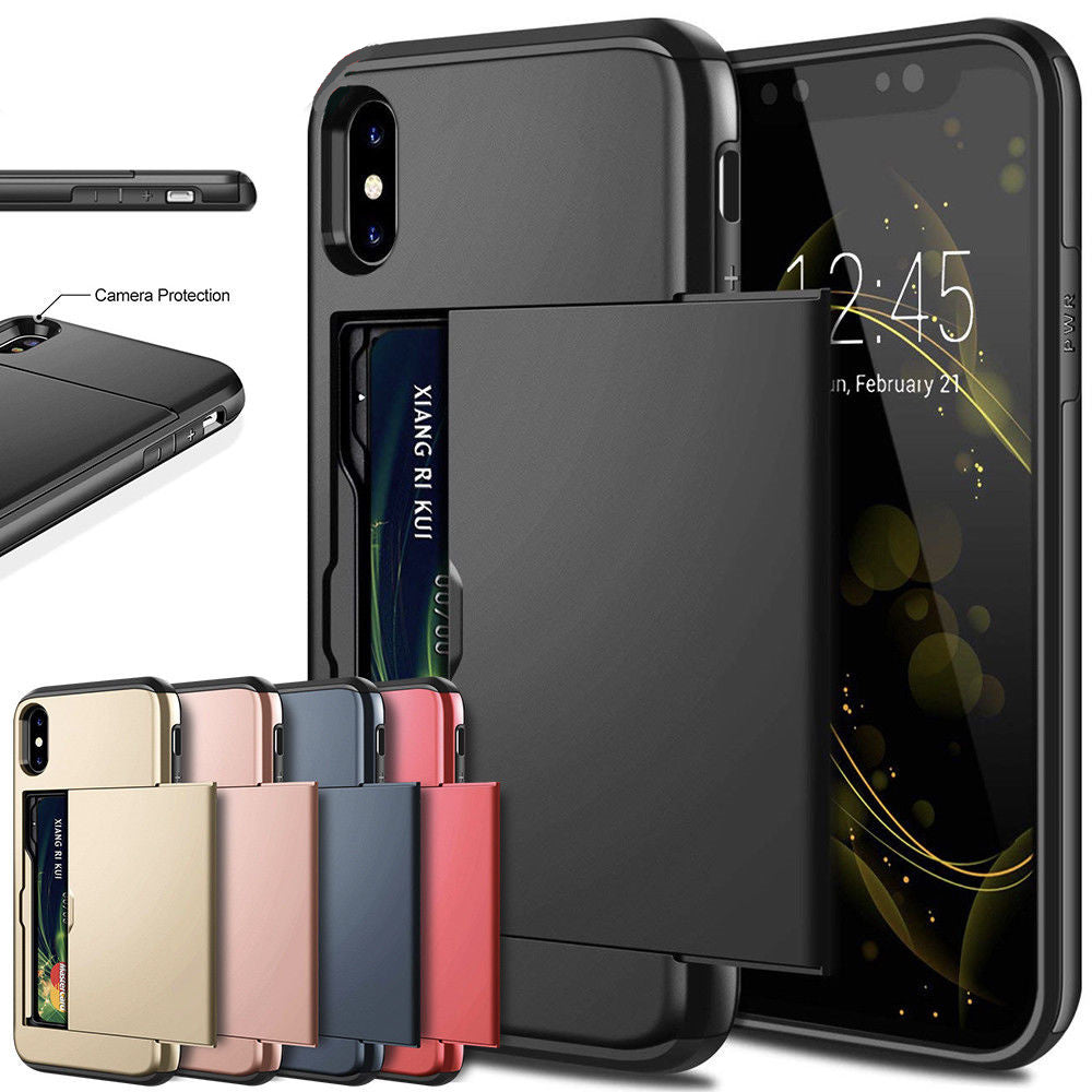 The latest iphone11 Pro sliding card anti-drop phone case