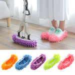 (Hot Sell)Washable lazy floor cleaning sweeping slippers