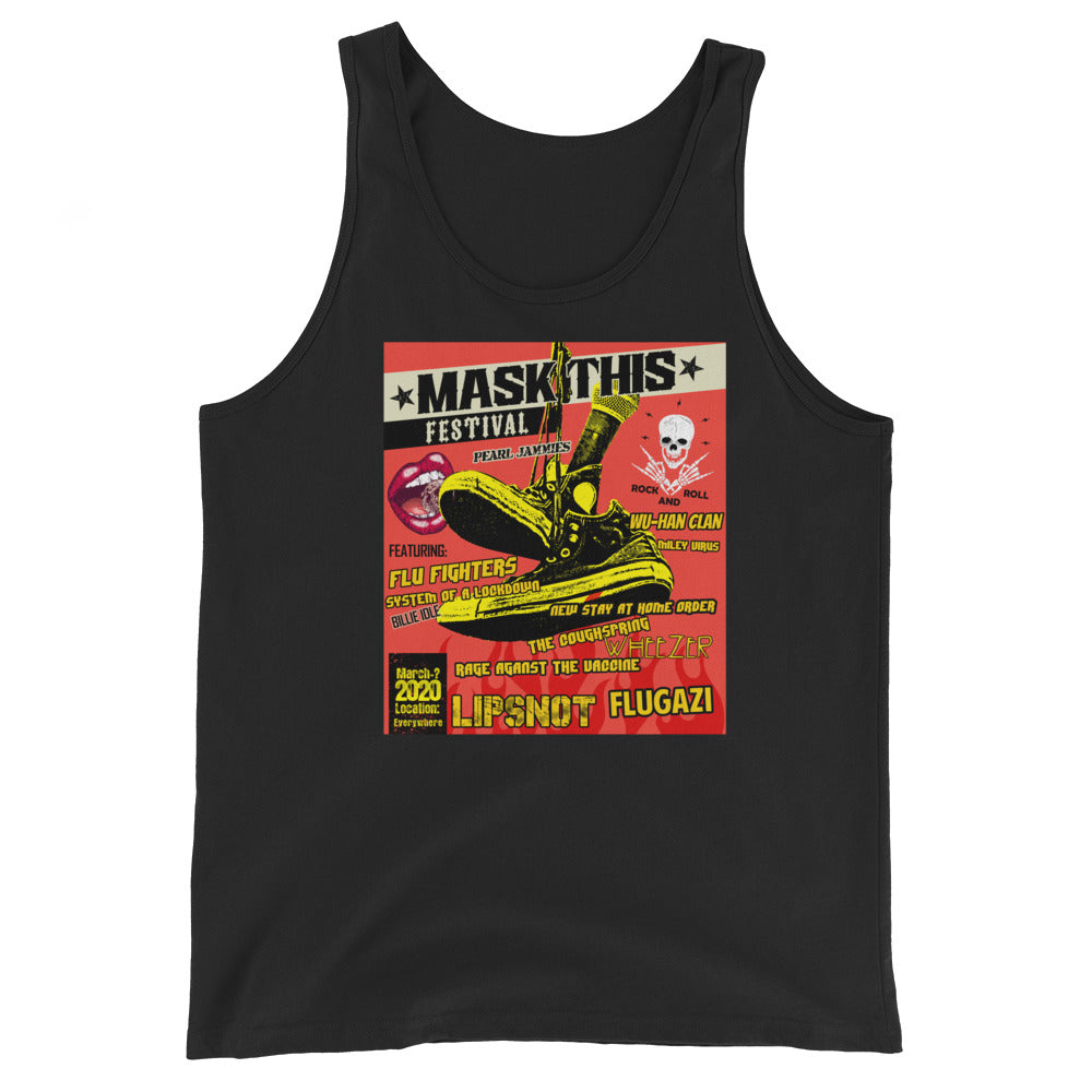 2020 Mask This Ltd. Print Corona Concert Tank