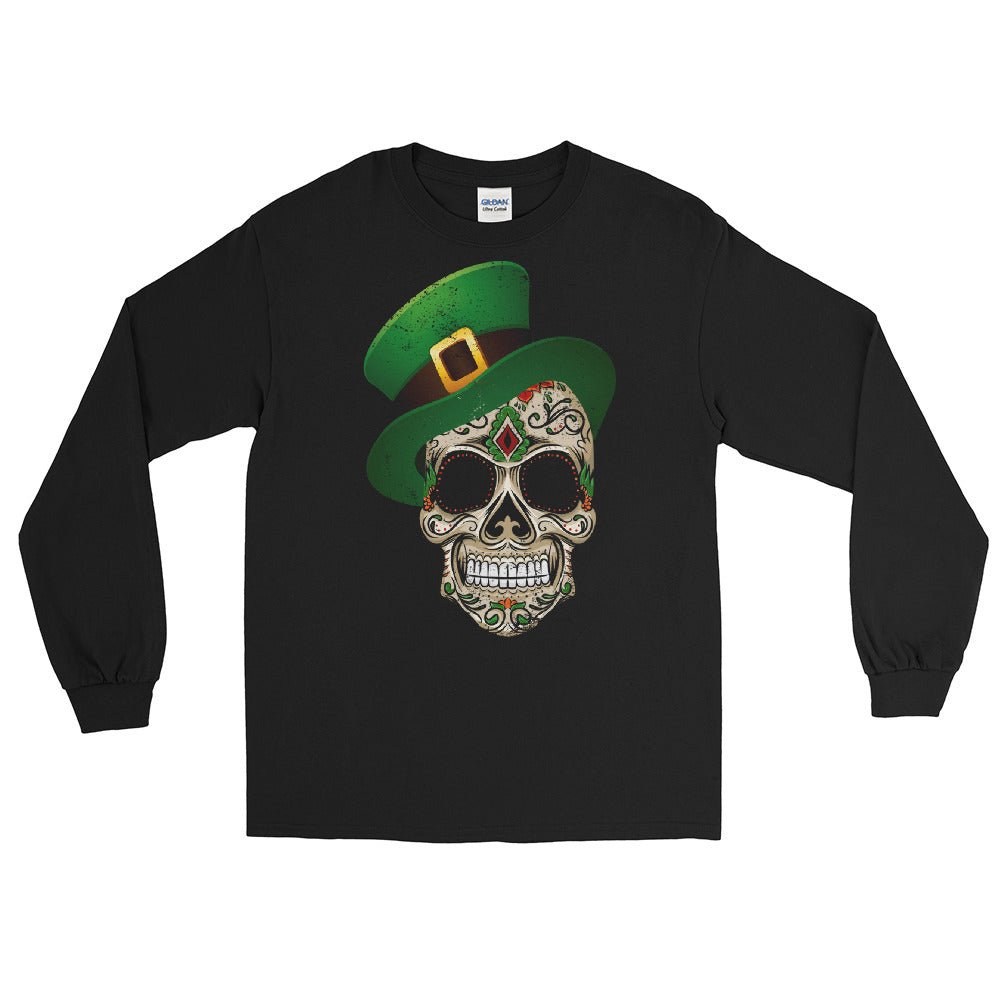 St. Patrick's Chingon Calavera Long Sleeve T-Shirt ( ORDER BY MAR 4 )