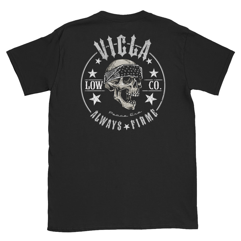Vicla Low Co. Greaser Motorcycle T-Shirt