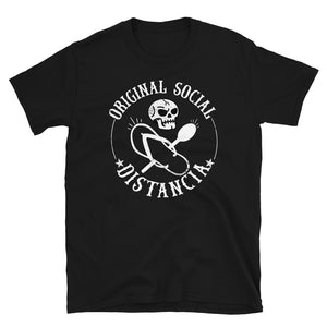 Original Social Distancia Chancla Chingon T-Shirt