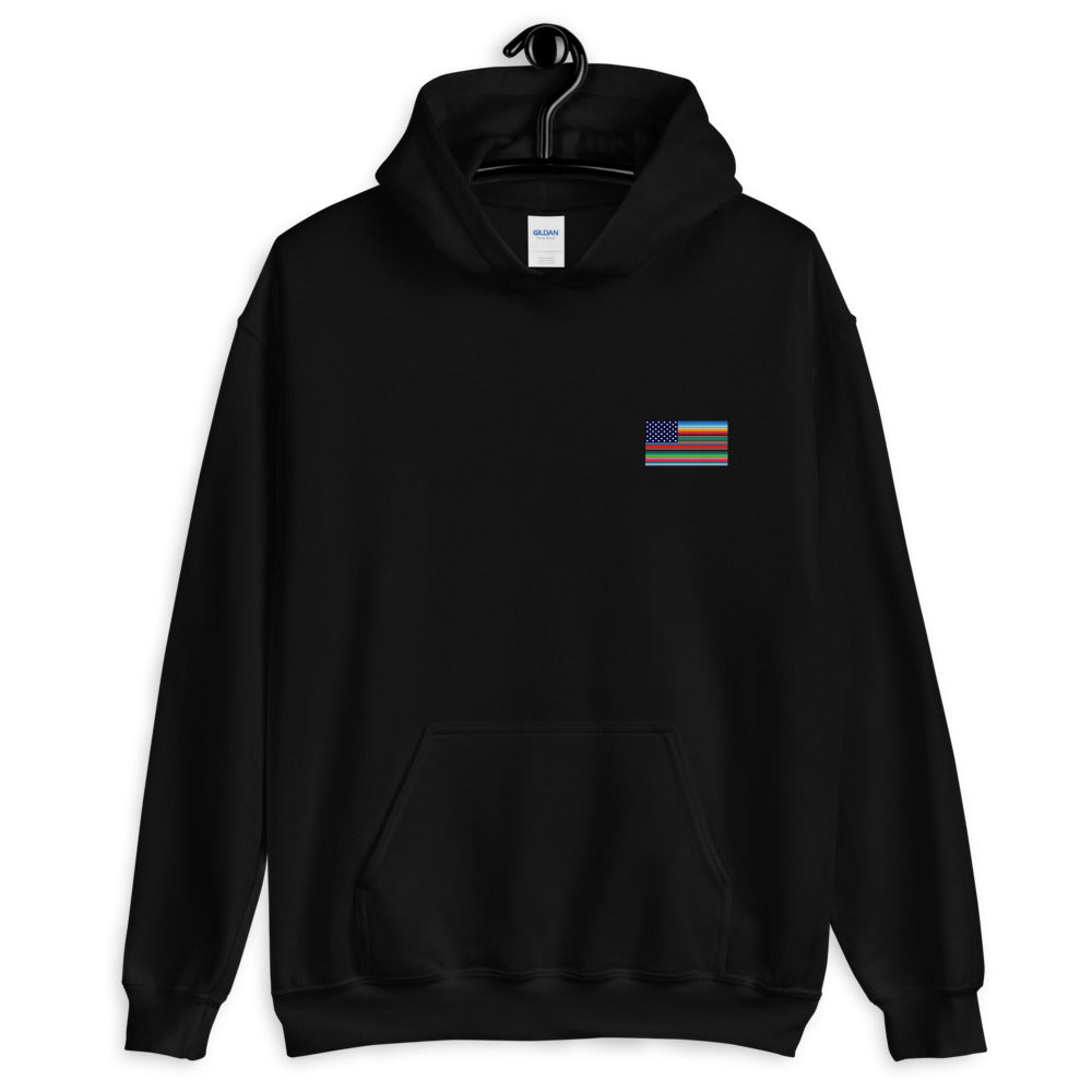 Cross-Cultura Orgullo Classic Hoodie (Front & Back Print)