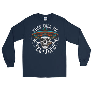 El Jefe Chingon OG Long Sleeve T-Shirt