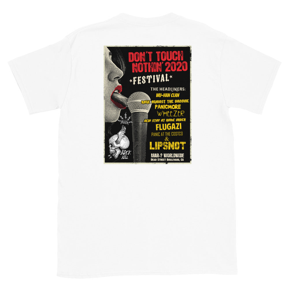 Don't Touch Nothin' 2020 Corona  Concert Tee
