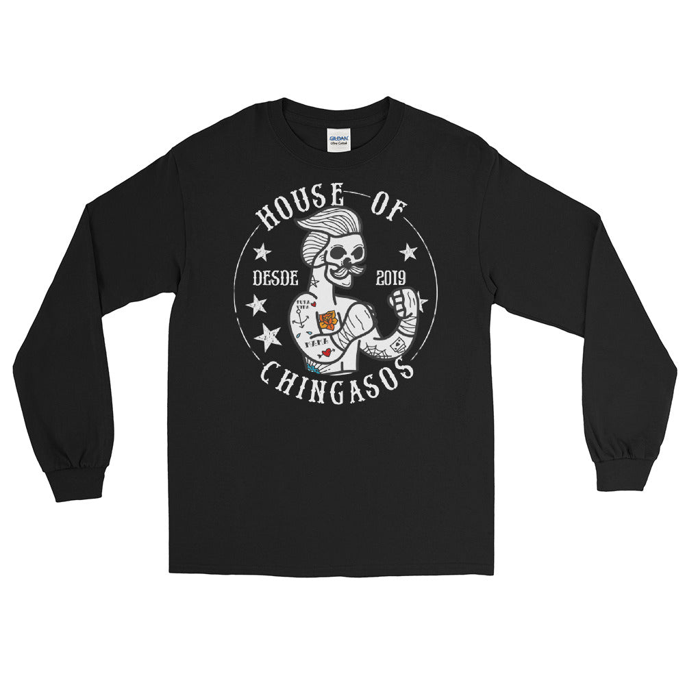 House Of Chingasos OG Vintage Long-Sleeve T-Shirt