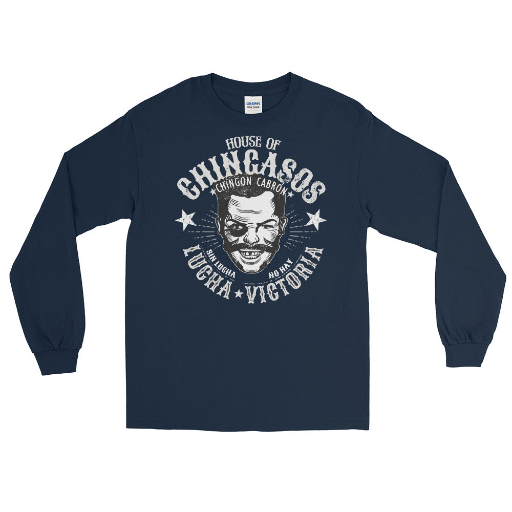 Vintage House Of Chingasos Lucha Victoria Long-Sleeve T-Shirt