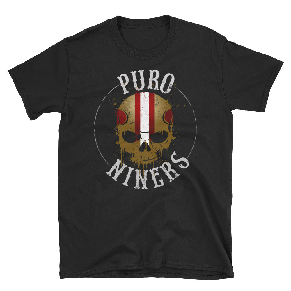 Puro Niners Chingon Distressed T-Shirt