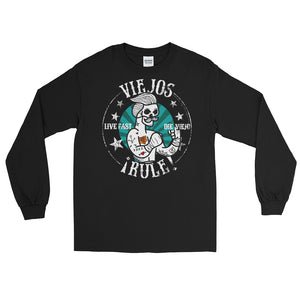 Viejos Rule OG Chingon Vintage Long Sleeve T-Shirt