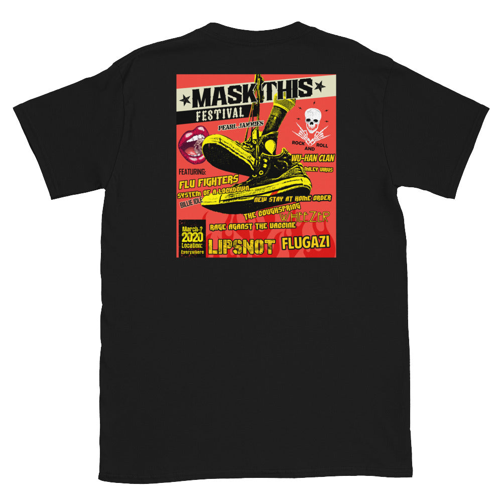 2020 Mask This Ltd. Print Corona Concert Tee (Back Print)
